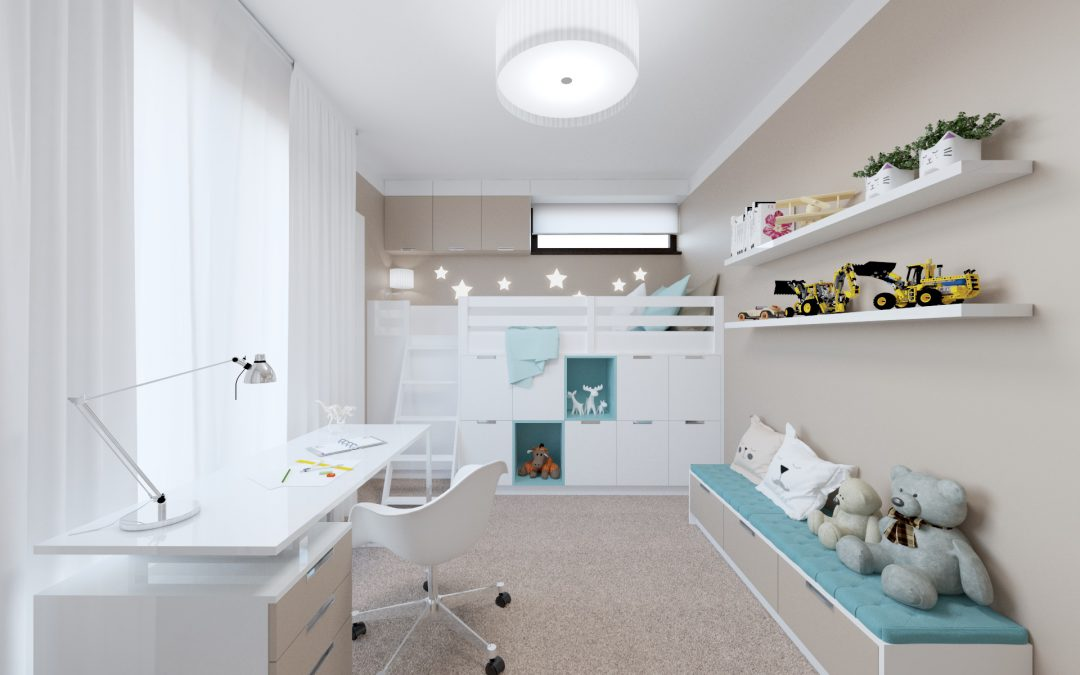 BOYS ROOM WITH STORAGE